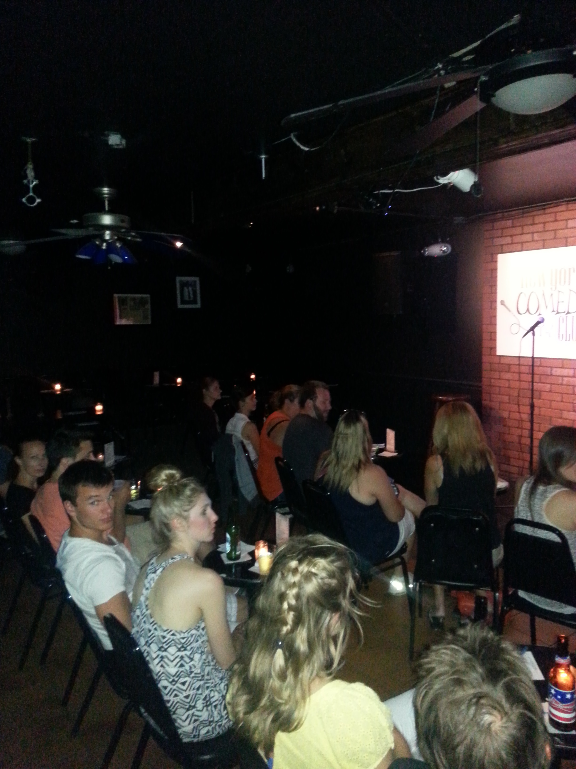 Great Crowd NY Comedy Club