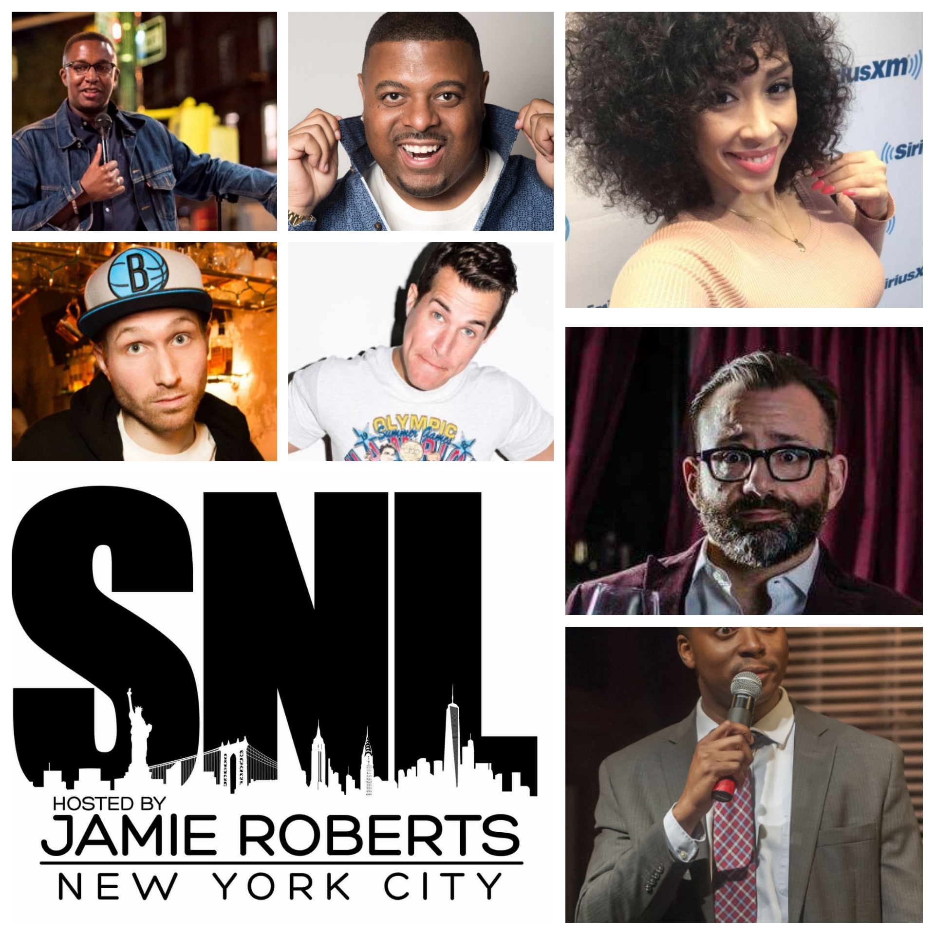 Image result for sunday night live april 22 broadway comedy club